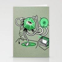 Mr. Gemstone Stationery Cards