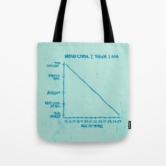 HOW COOL I THINK I AM Tote Bag