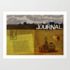 Journal Art Print