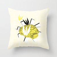 Crane's inspiration Throw Pillow