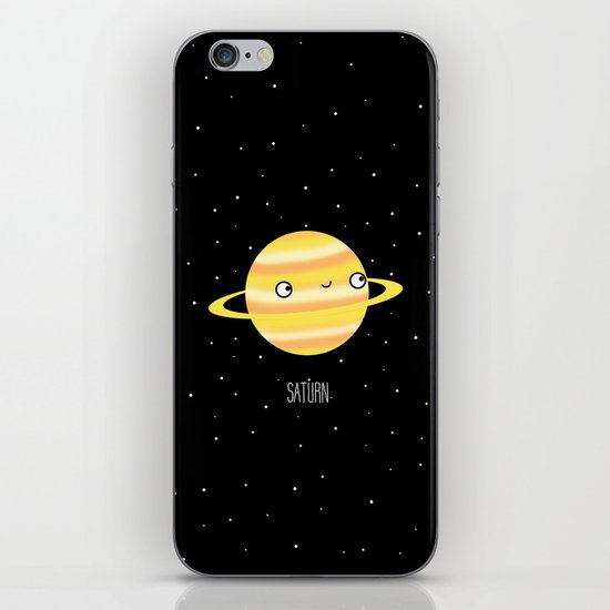 Saturn iPhone & iPod Skin