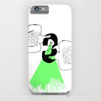 iPhone & iPod Case featuring I know who you are by Villaraco