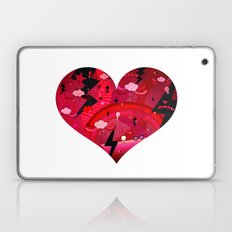 BIG HEART Laptop & iPad Skin