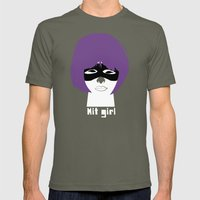 Hit Girl Mens Fitted Tee Lieutenant SMALL