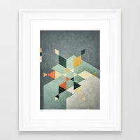 Shape_02 Framed Art Print