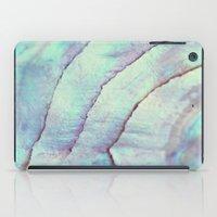 IRIDISCENT SEASHELL MINT by Monika Strigel iPad Case