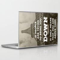 eiffel Laptop & iPad Skins featuring Eiffel tower by Architect´s Eye