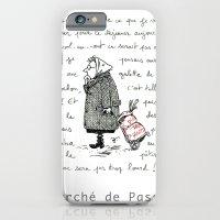 A Few Parisians: Marché de Passy by David Cessac iPhone 6 Slim Case