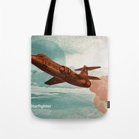 Starfighter Tote Bag