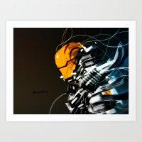 Wired Custom 13 Art Print