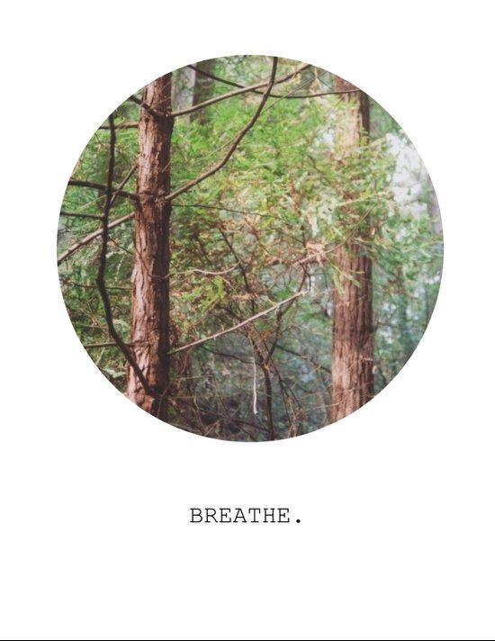 breathe. Art Print
