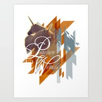Puncture Wounds Art Print