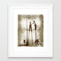 Higher Level Of Sobriety Framed Art Print