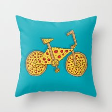Pizzacycle Throw Pillow
