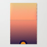 Something in the line Canvas Print