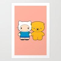 Hello Time Art Print
