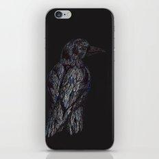 Black Bird (2) iPhone & iPod Skin
