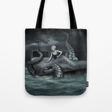 Octopus Attack! Tote Bag