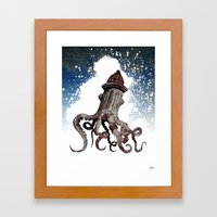 Street ∫ Animal Surrea… Framed Art Print