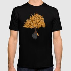 Tree of Knowledge SMALL Black Mens Fitted Tee