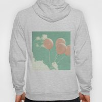 Soft Pink Balloons On So… Hoody
