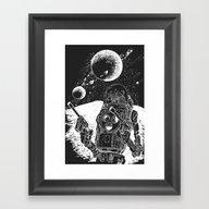 Duke Of The Moon Framed Art Print