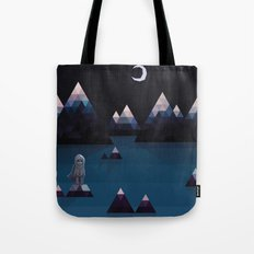 so quiet Tote Bag