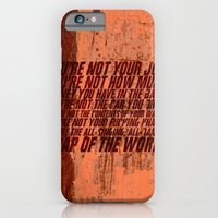 iPhone & iPod Case featuring Fight Club by elvisbr