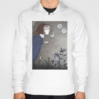 Hoody featuring Winter Twilight by Judith Clay