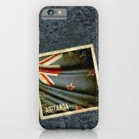 Grunge Sticker Of New Ze… iPhone 6 Slim Case