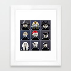 Voldemort Cosplay Framed Art Print