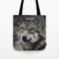 Wolf II Tote Bag