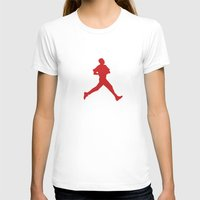 obama T-shirts featuring Obama Jumpman by Michael Rosenfeld