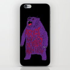 Arise and Devour Much Flesh iPhone & iPod Skin