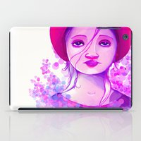Sad Purple iPad Case