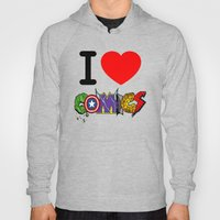 I LOVE COMICS Hoody