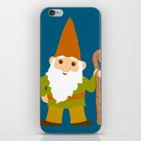 gnome sweet gnome iPhone & iPod Skin