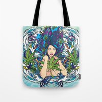 GANJA GIRL Tote Bag