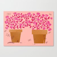 We've Grown So Much Together Canvas Print