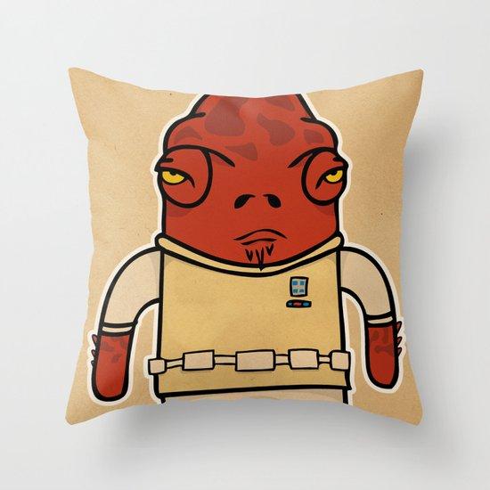 Akbar Throw Pillow