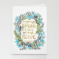 Anything's Possible Stationery Cards