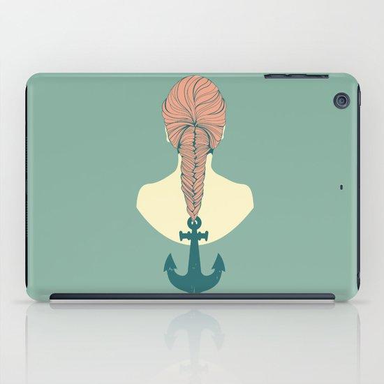Fish and Anchor iPad Case