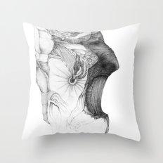 Fraction Throw Pillow