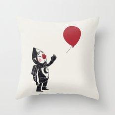 balloon fairy Throw Pillow