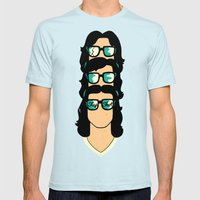 Slap Shot Mens Fitted Tee Light Blue SMALL