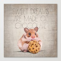 Sweet Dreams Are Made Of… Canvas Print