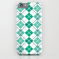 Emerald Argyle iPhone 6 Slim Case