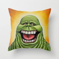 Ugly Spud - Slimer Throw Pillow