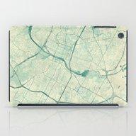Austin Map Blue Vintage iPad Case