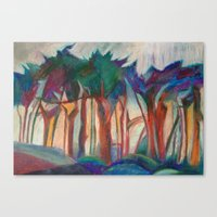 Abstract Landscape I Canvas Print